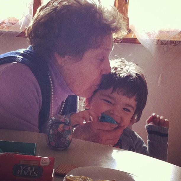 Nonna Annamaria e Davide